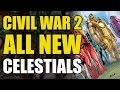Marvel Comics Civil War 2 Lead Up: All New Celestials