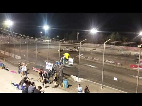 Mod lites at Bakersfield Speedway 9/15/18 heart race 1
