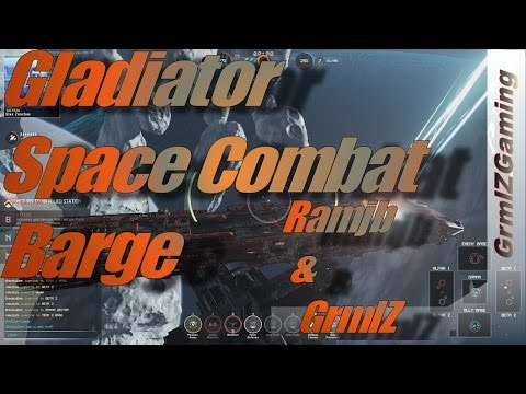 Fractured Space - Ramjb & GrmlZ Live // Space Combat Barge