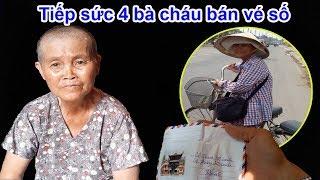 Theo chân bà ngoại tội nghiệp bán vé số nuôi 3 cháu và tặng quà yêu thương của Việt kiều - Guufood