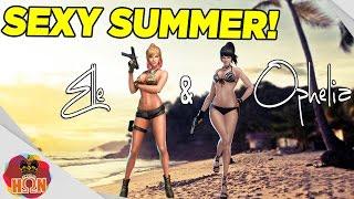 Combat Arms Bikini Characters - Elle & Ophelia ► Summer Update
