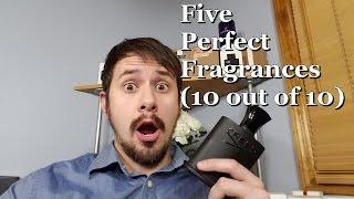 Five (5) Perfect Ten Fragrances / Colognes