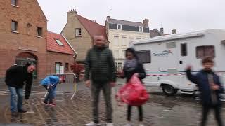 4 jours de Dunkerque passage à Bergues 59