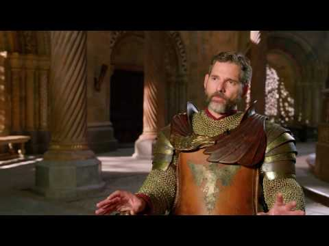 "King Arthur: Eric Bana ""Uther"" Behind the Scenes Movie Interview"