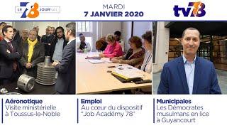 7/8 Le Journal. Edition du mardi 7 janvier 2020