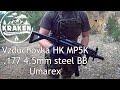 Vzduchovka Umarex HK MP5K .177 4,5mm steel BB