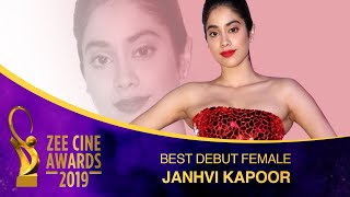 The New DIVA  Janhvi Kapoor  Best Debut Female  Zee Cine Awards 2019
