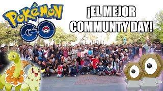 ¡COMMUNITY DAY CHIKORITA! MEWTWO Y APARECE TUERKITA! ¿EL MEJOR SHINY? | Pokemon GO