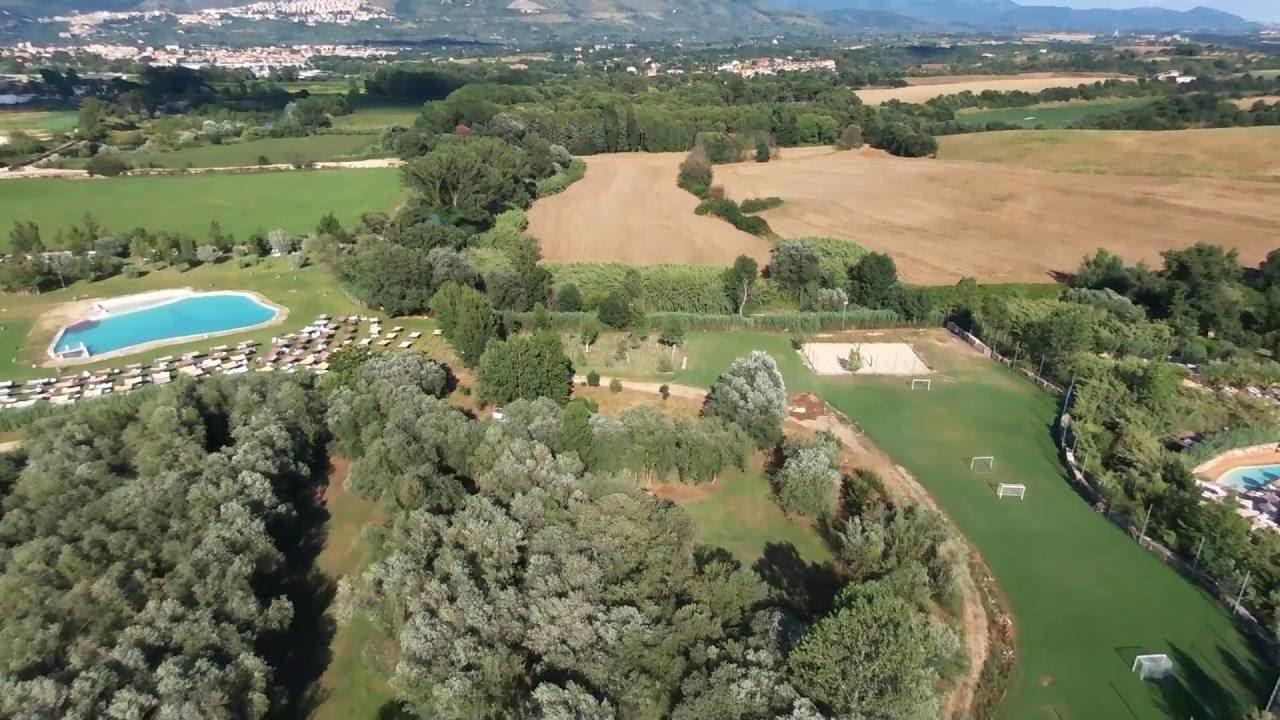 Parco Tivoli Bamboo Eden - Piscine Sulfuree a Roma - Video Drone ...
