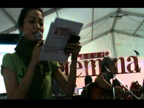 Nice Friday @ booth Femina Group, Java Jazz Festival 2011.