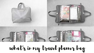 What's In My Travel Planner Bag
