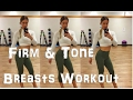 Firm & Tone Your Breasts | #ChestWorkout for Women | #Vegan #Fitness