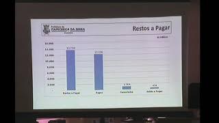 Audiência Publica Finanças - 29/09/2017