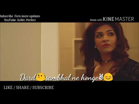Jeene  ke  liye socha hi nhi//WhatsApp status lyrics video By Mr.Perfect