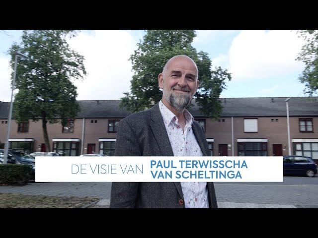 De visie van Paul Terwisscha van Scheltinga (Volksbelang) | Transitieteam Circulaire Bouweconomie
