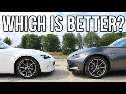Softtop vs RF - Miata In Action - Episode 28