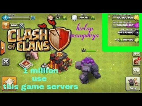 How to download clash of clans mod apk download *2018* *NEW*