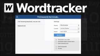 Wordtracker Keyword Tool