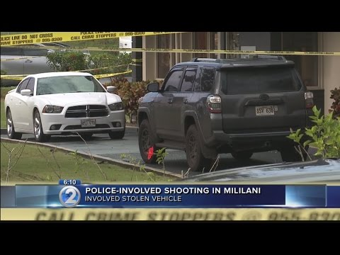 2 hospitalized after officer-involved shooting near Mililani High School