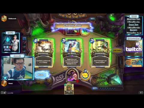 Hearthstone Amaz Playing Casino Mage For Legend Rank 1