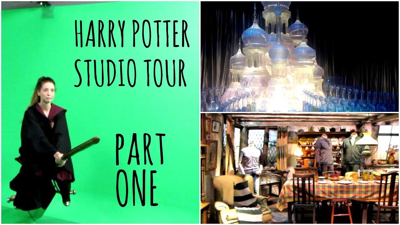 harry potter studio tour part one morezoella youtube