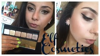 New E.L.F Prism Eyeshadow- Naked FIRST IMPRESSIONS + TUTORIAL