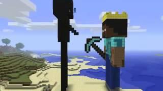 Minecraft Herobrine & Enderman