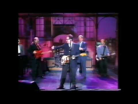 Elvis Costello on Letterman, 1995