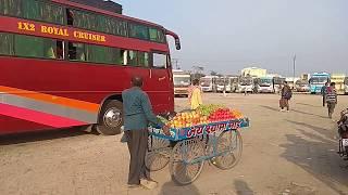 दरभंगा दिल्ली मोड़ में नई बस स्टैंड का सुरुआत 17/01/2018