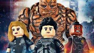 Лего Мультики: Фантастическая Четверка Лаборатория Злодеев Lego Marvel