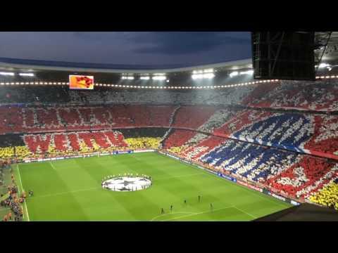 Allianz Arena - FC Bayern München - Stimmung und Choreos - Groundhopping