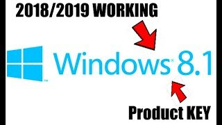 WINDOWS 8.1 ALL VERSIONS PRODUCT KEY 100% 2018/2019 WORKING