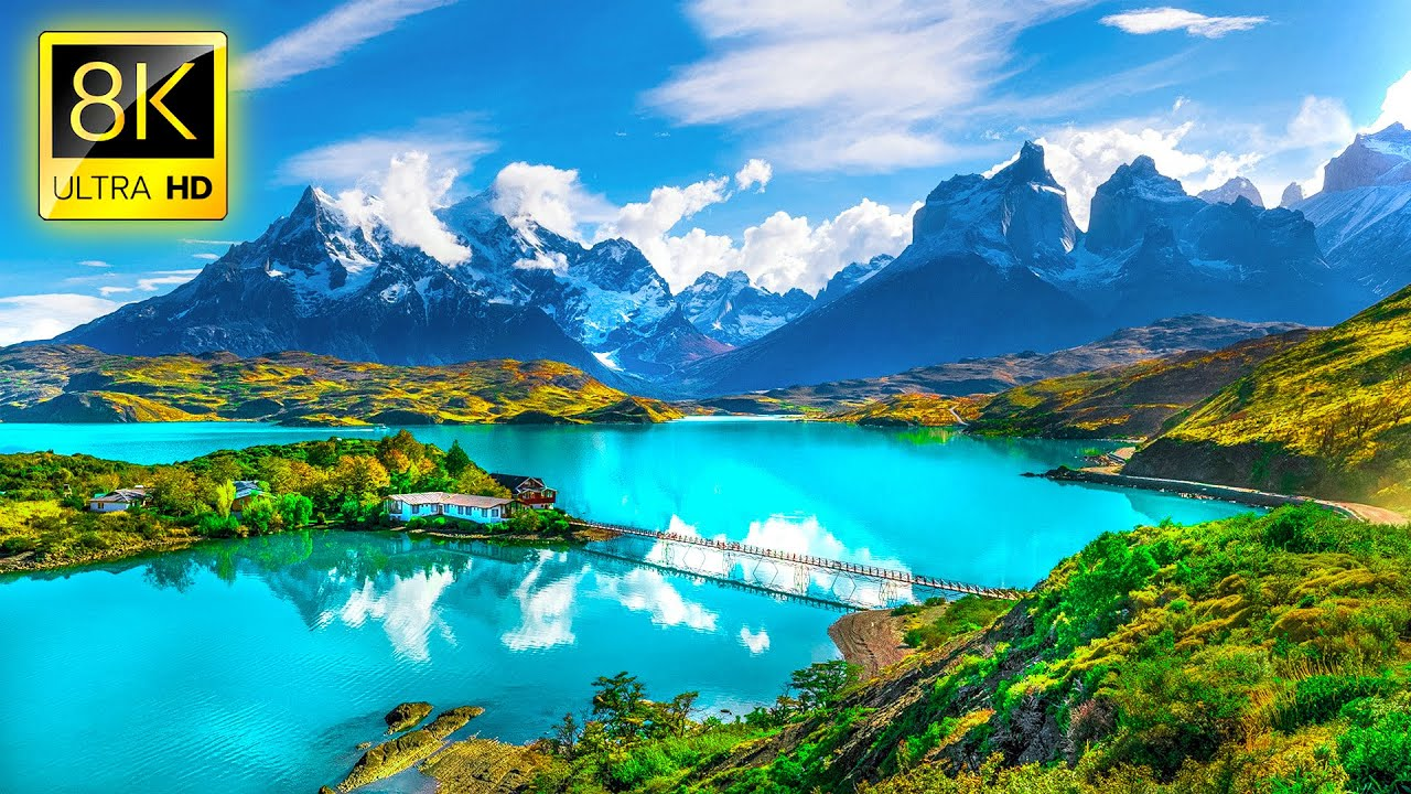 Most Beautiful Places on Earth in 8K ULTRA HD / 8K TV