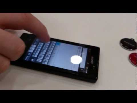 Sony Xperia Sola Floating Touch Demo HD russian