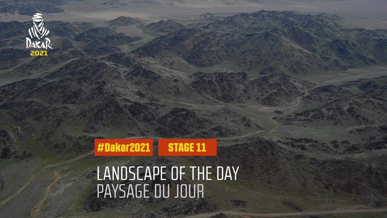 #DAKAR2021 - Stage 11 - AlUla / Yanbu - Landscape of the Day