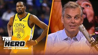 Kevin Durant shouldn't leave Warriors, Colin has a warning for the Sixers   NBA   THE HERD