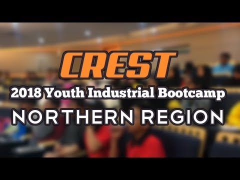 CREST | Northern Youth Industry Bootcamp 2018