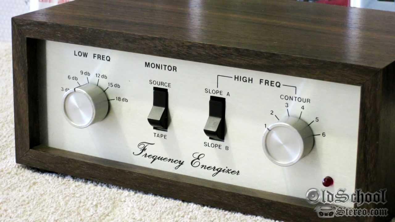 Vintage Fosgate Frequency Energizer Original Punch Eq