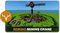Minecraft Building Tutorial : How to build a Nordic Mining Quarry