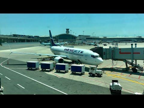 WestJet 737-800 Flight YYZ-YVR