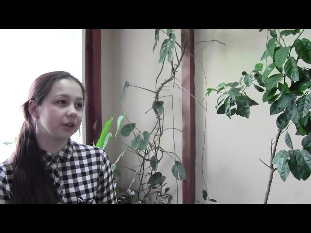Изображение предпросмотра прочтения – АнгелинаСаенко читает произведение «Вот опять окно» М.И.Цветаевой