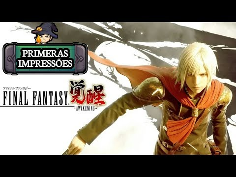 MMORPG Final Fantasy Awakening 😍 / GAMEPLAY ANDROID BR