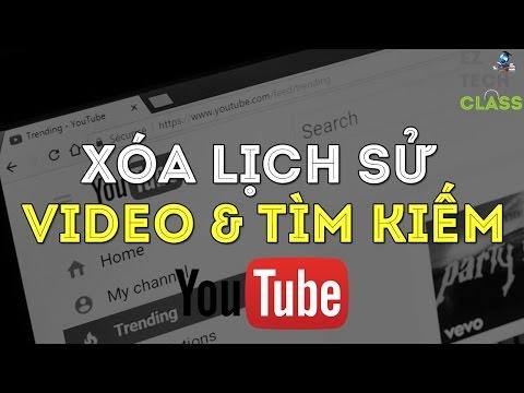 Xóa Lịch Sử Video đã Xem & Từ Khóa đã Tìm Kiếm Trên Youtube | EZ TECH CLASS