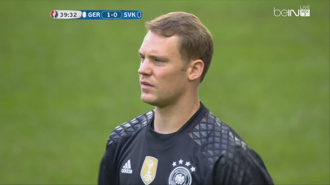 373c13fa09e Manuel Neuer vs Slovakia - Euro 2016 (26.06.2016) HD 720p - YouTube