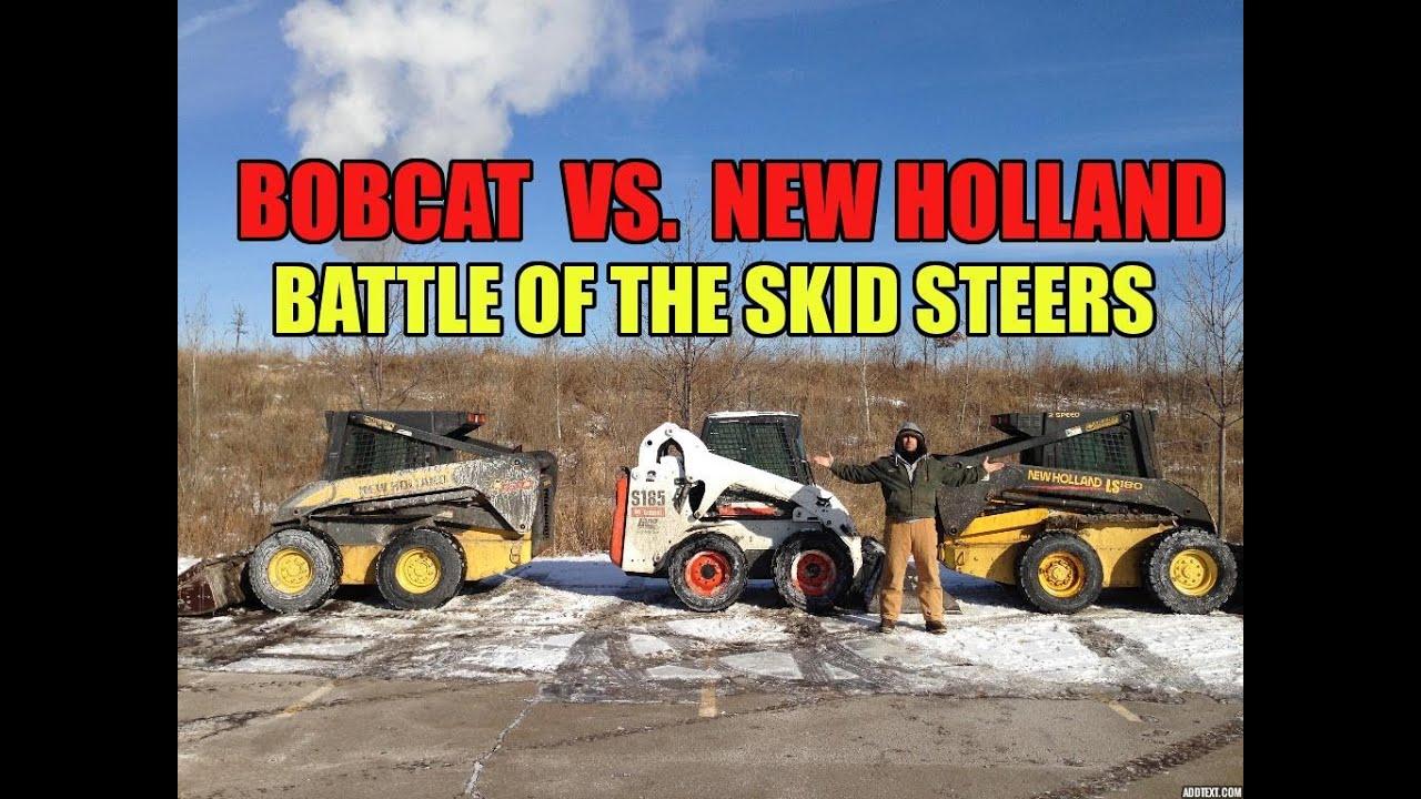 Bobcat Vs New Holland Skid Steer Loader Comparison