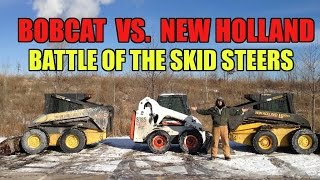 Bobcat Vs New Holland skid steer loader Comparison