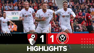 Bournemouth 1-1 Sheffield United | Extended Highlights
