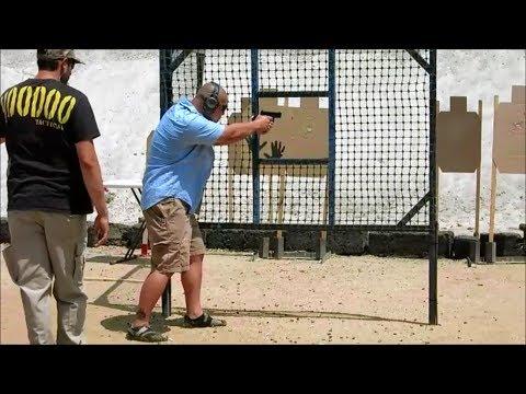 IDPA Basil at Prado Olympic Shooting Park...