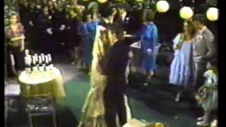 "F&F-1986 Wedding 26: Frisco sings ""Lady of My Heart"" to Felicia"