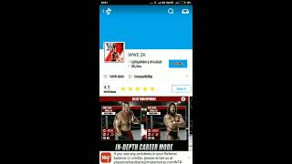 How to download wwe 2k in android device by mobogenie full process 100%
